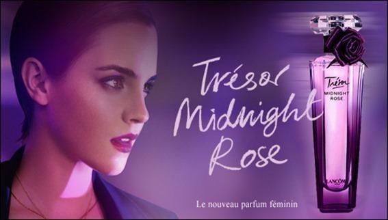 Très Emma Watson - Lancome Tresor Midnight Rose | Parfümök arcai  EO33