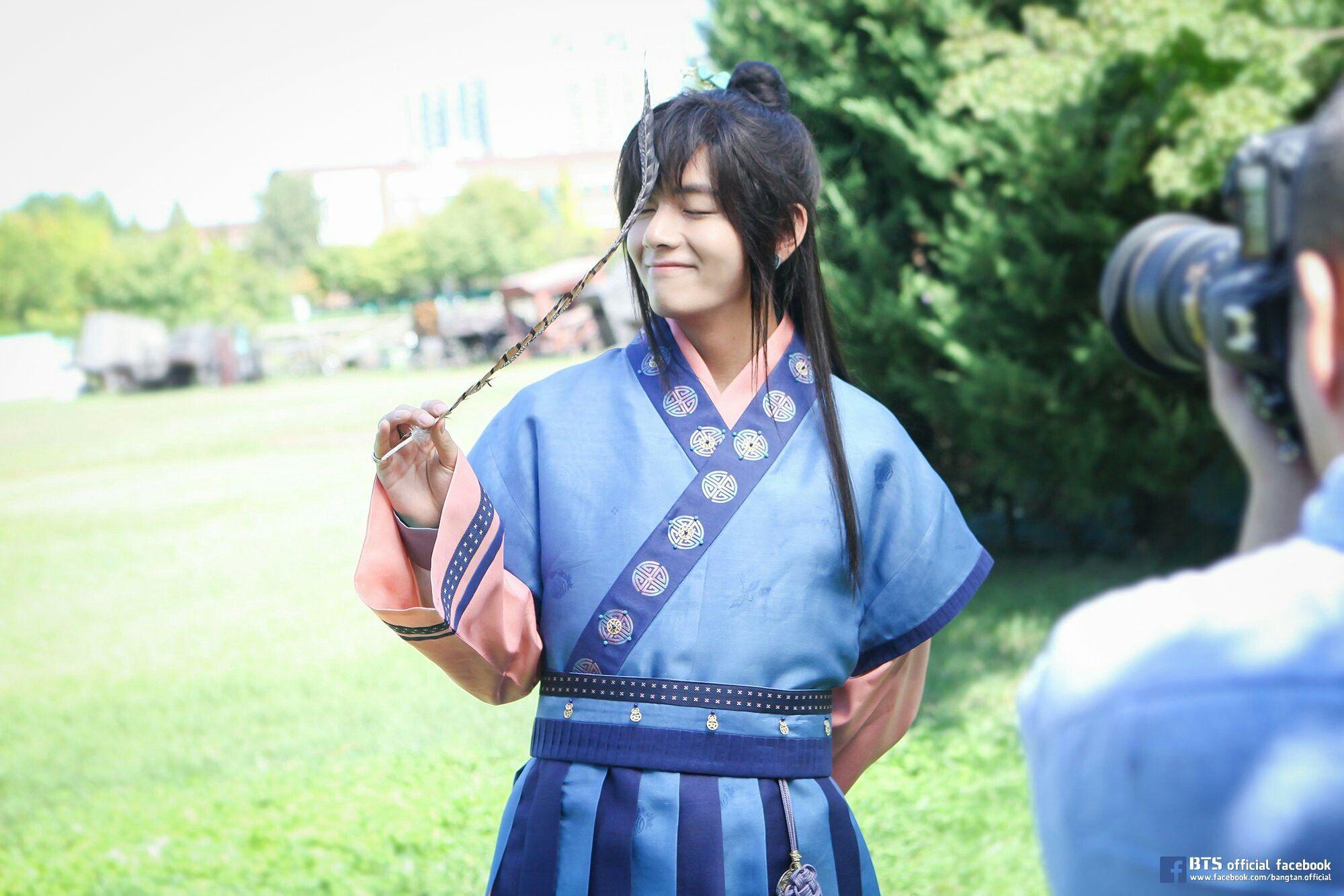 "Kim TaeHyung-BTS photo ""Hwarang"" (My Mozão)"