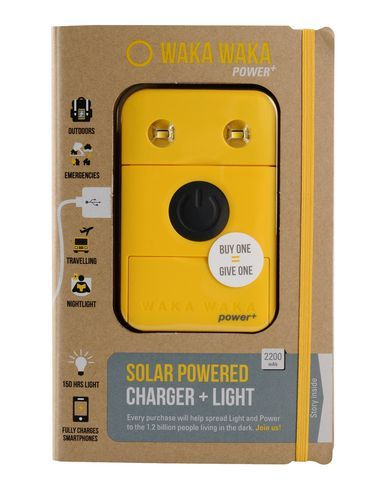Waka Waka Solar Lamp Hi Tech Accessory On Yoox Com The Best Online Selection Of Hi Tech A Solar Power Charger Solar Charger Solar Charger Portable