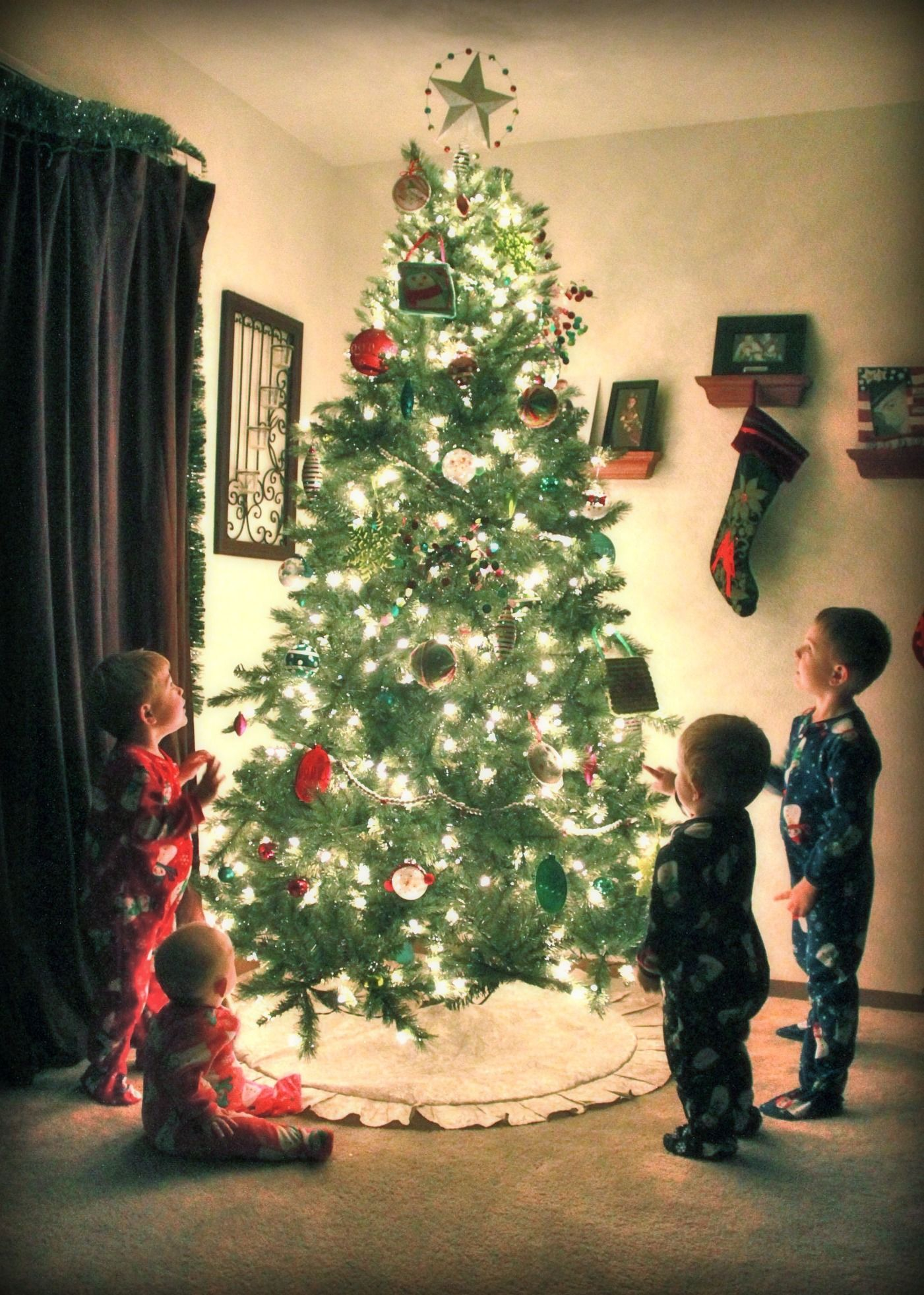 Christmas Tree Picture.