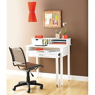 White Roll Out Desk From The Container Store Desks For Small