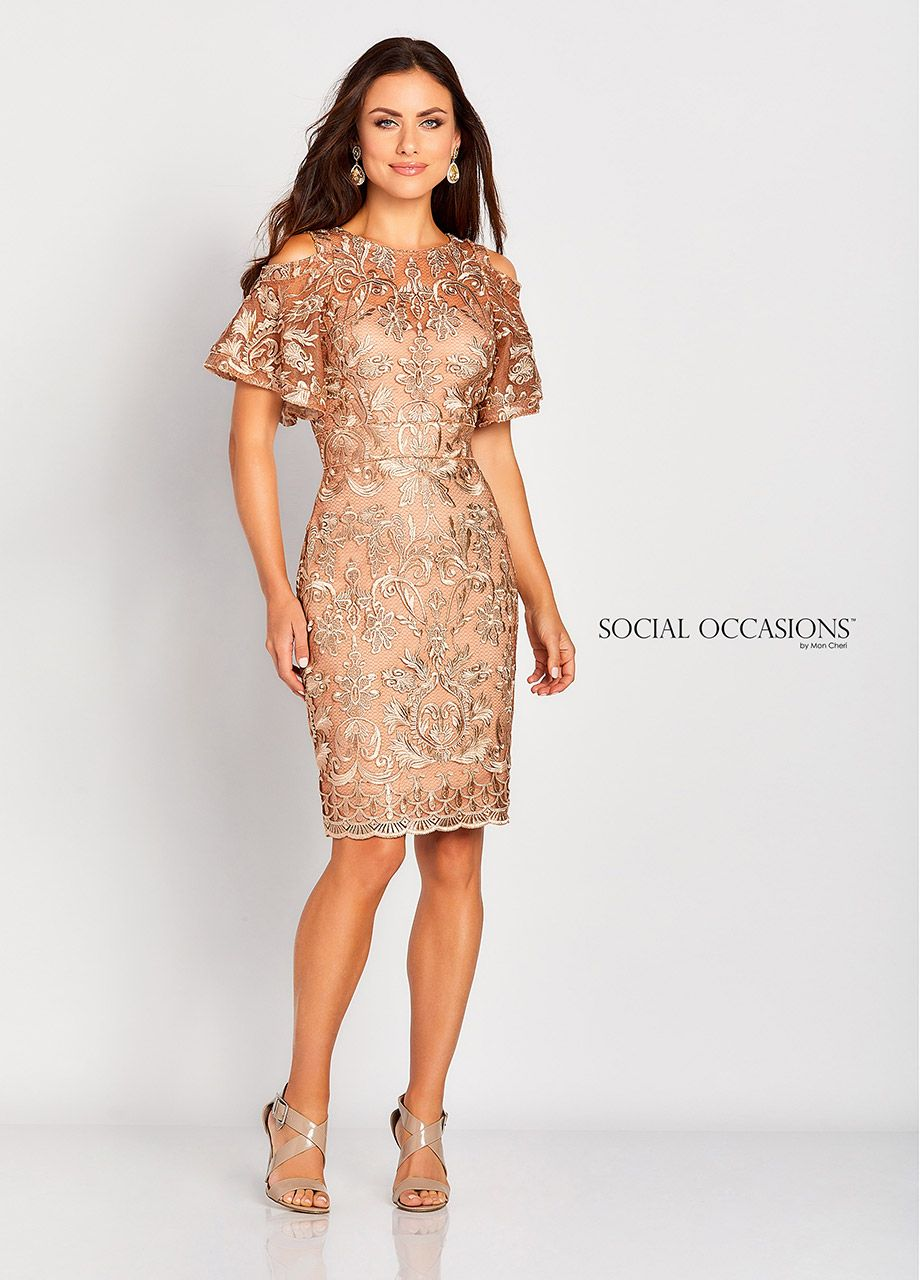 Special Occasions Dresses By Mon Cheri Mid Length And A Line Dresses For Wedding Guests Formal Dresses Lace Dress Wedding Guest Dress [ 1280 x 920 Pixel ]