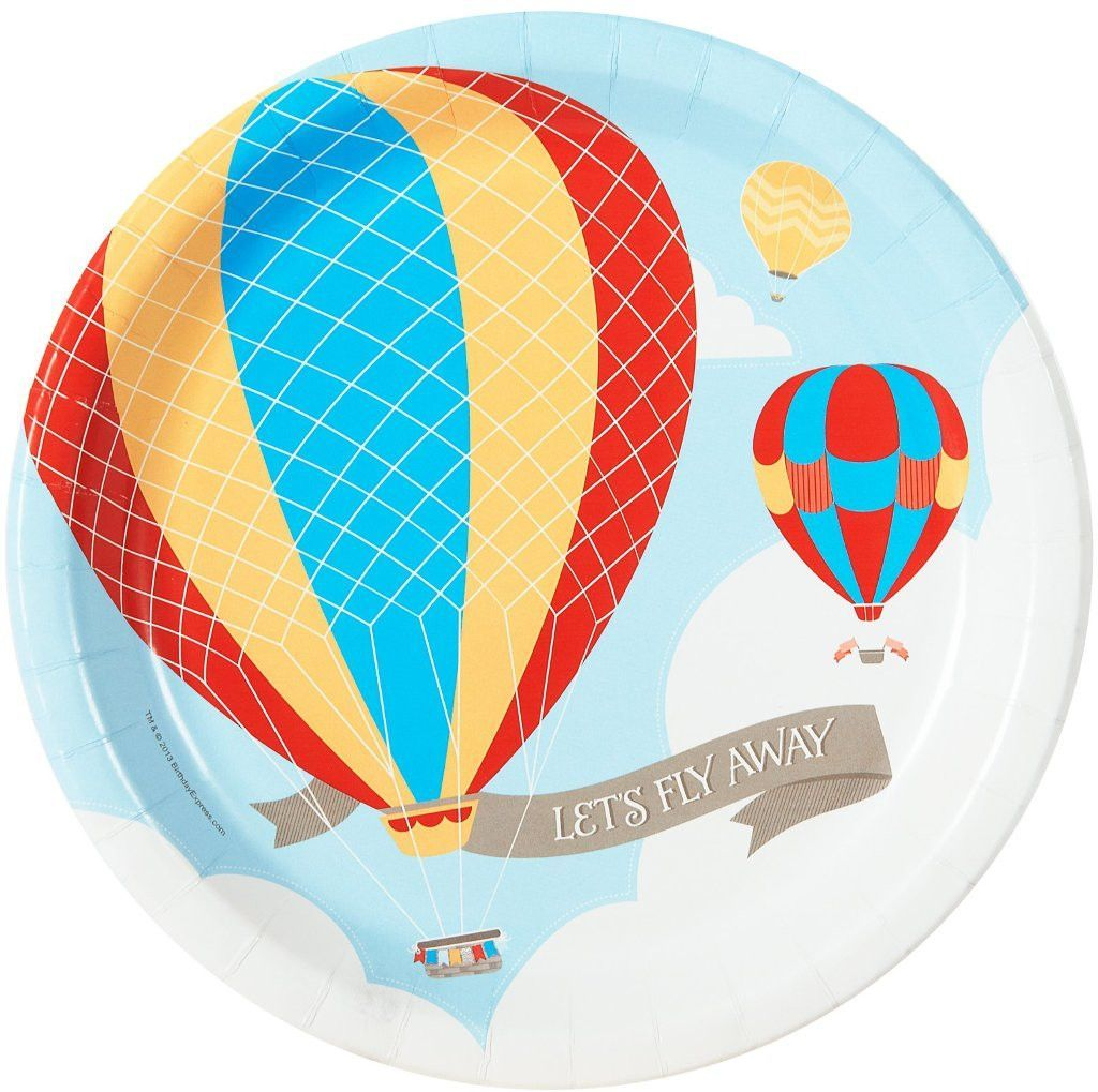 up, up and away dinner plates [set of 8] Case of 10 Hot