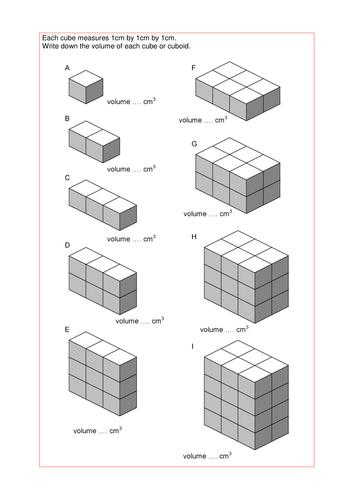 math worksheet : worksheet on volume of a cube and cuboid  places to visit  : Volume Of A Cube Worksheet