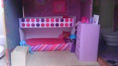 make your own barbie furniture. Make Your Own Barbie Furniture And Accessories. Bunk Beds Dresser Made With Cardboard W
