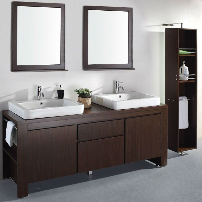 Suele Haber Un Momento En Las Mañanas En El Que El Baño Es Un Preciado Espacio Foco De Peleas Por Muebles De Baño Muebles Para Baños Modernos Lavabo Doble