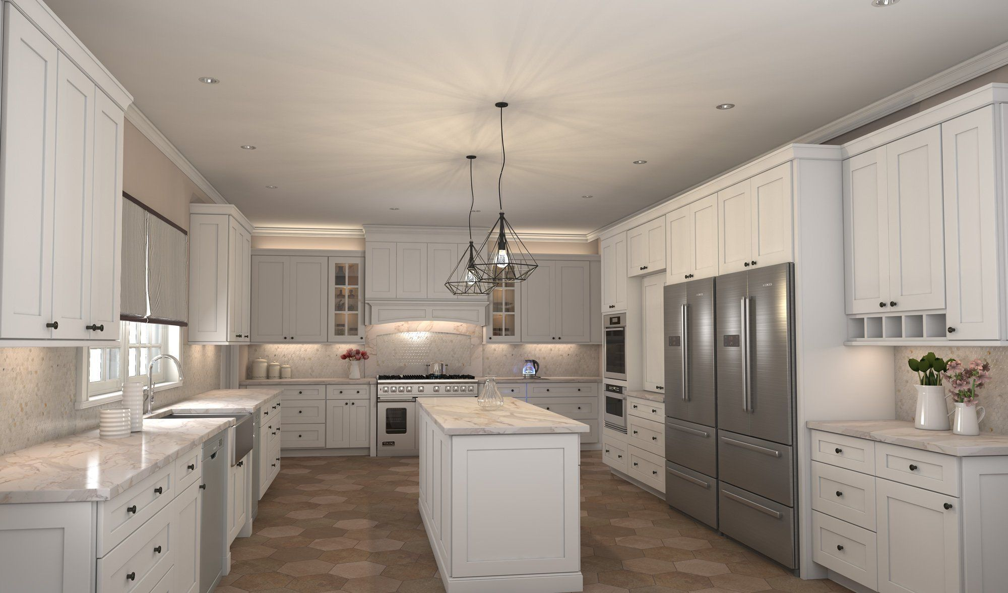 The Transitional Style Of Dover Latte Shaker Style Cabinets By Cubitaccabinetry Brings B Discount Kitchen Cabinets Buy Kitchen Cabinets Kitchen Cabinet Styles