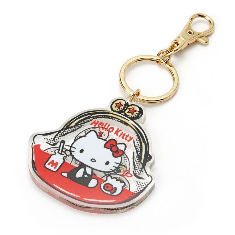 Hello Kitty Sanrio New Bag in Key Holder with Clip Kawaii Japan Free Shipping