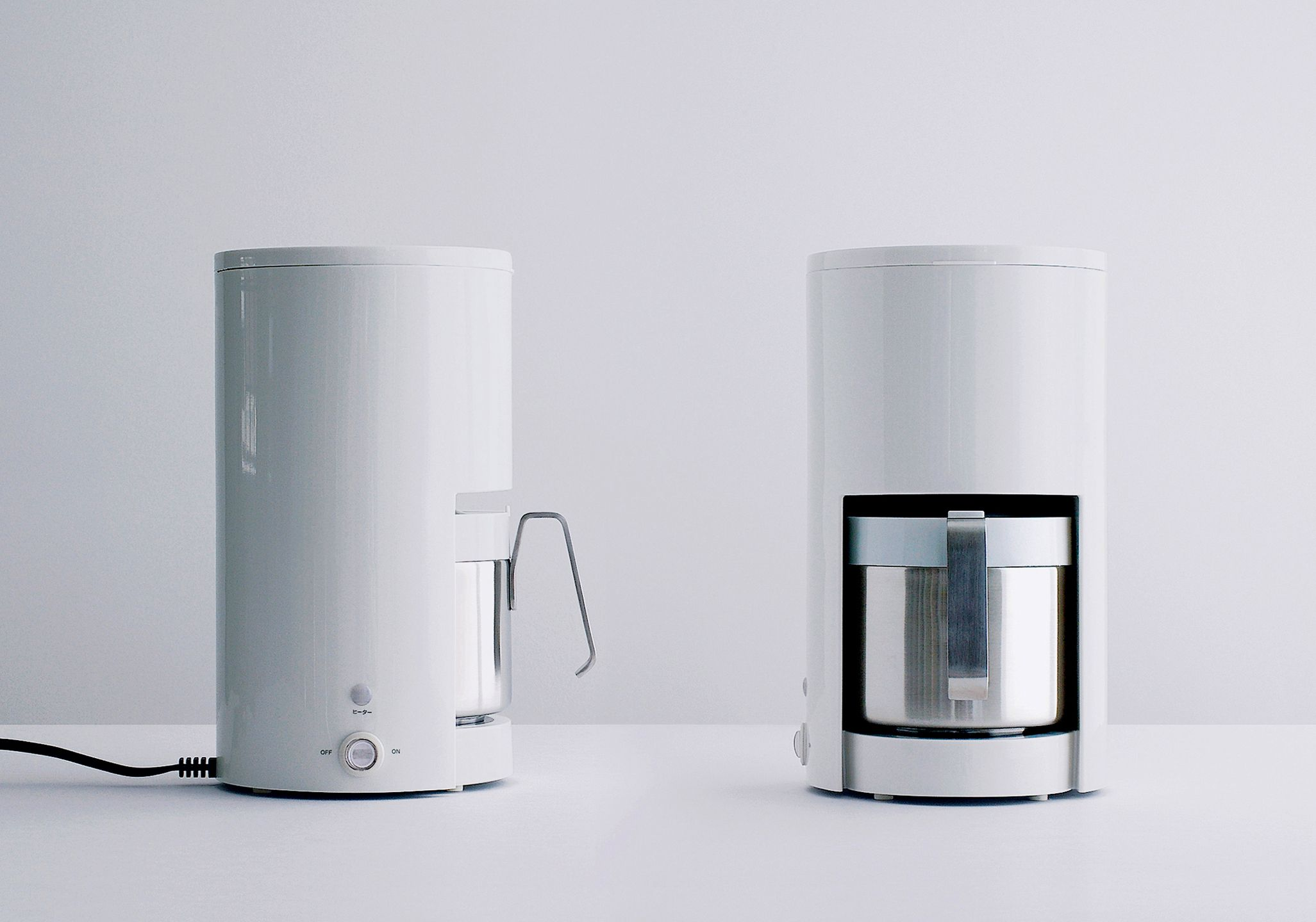 Coffee Maker Client Muji, Japan Modern coffee makers