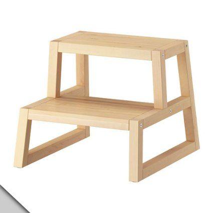 Ikea Molger Step Stool Birch Tritthocker Stufenhocker Und