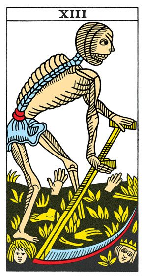 A13 Tarot Death Tarot Tarot Card Meanings