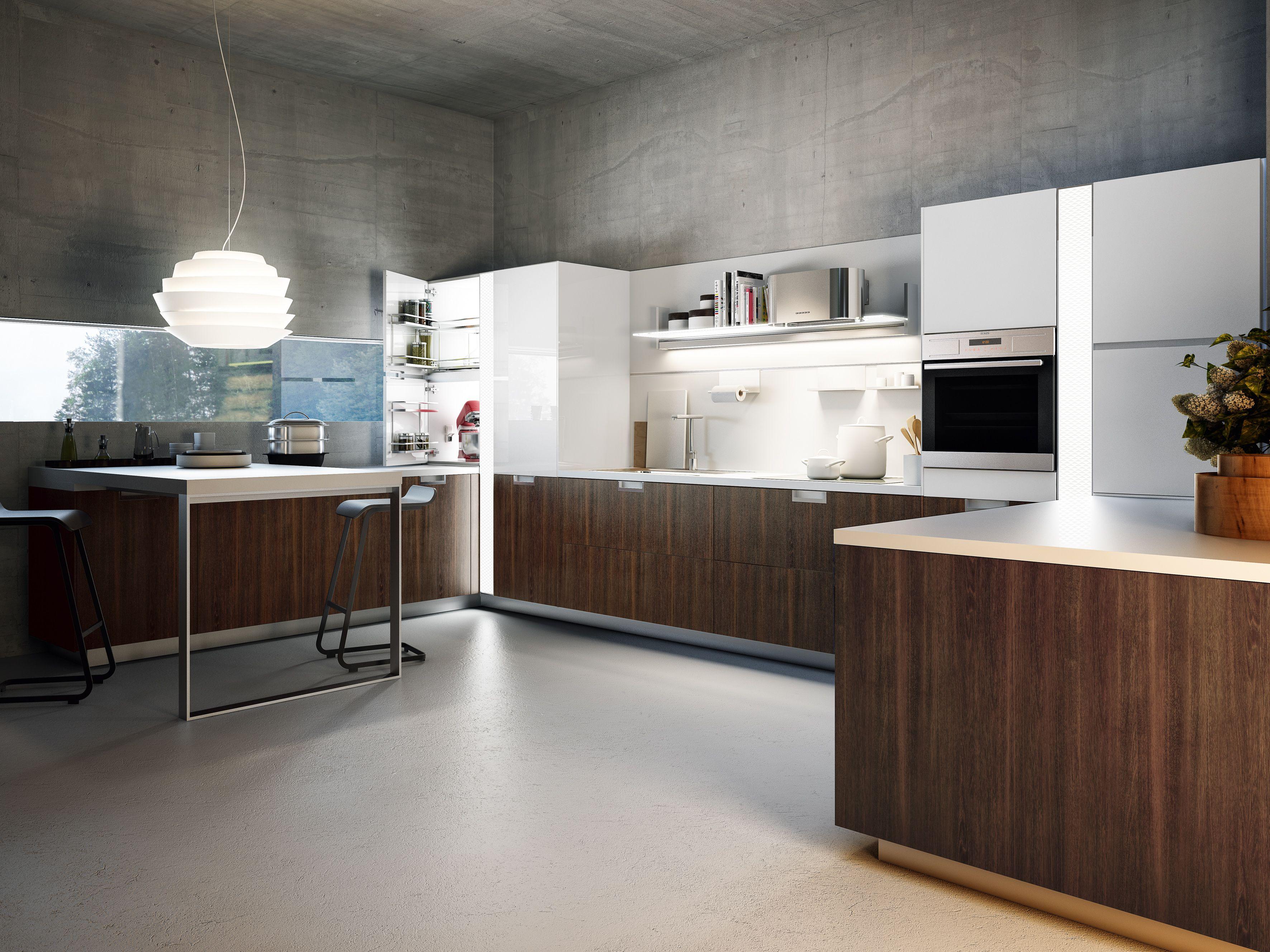 Snaidero Usa Lux Sleek Kitchen Design Modern Kitchen Modern Kitchen Design