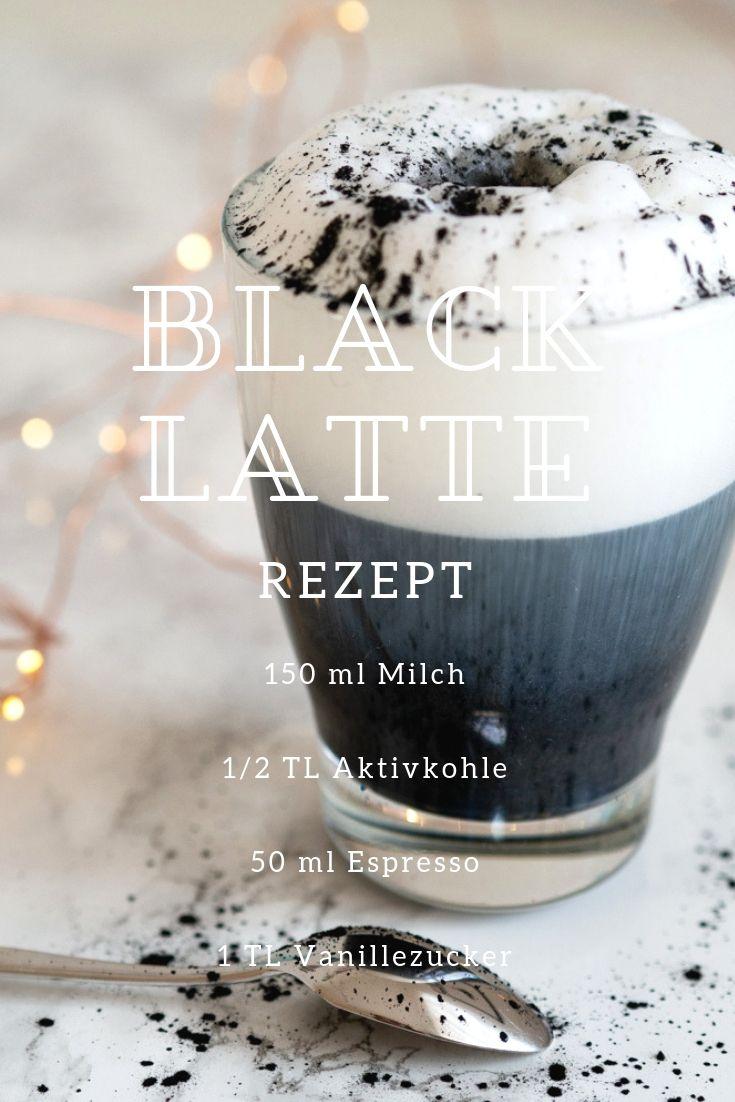 Black Latte Rezept
