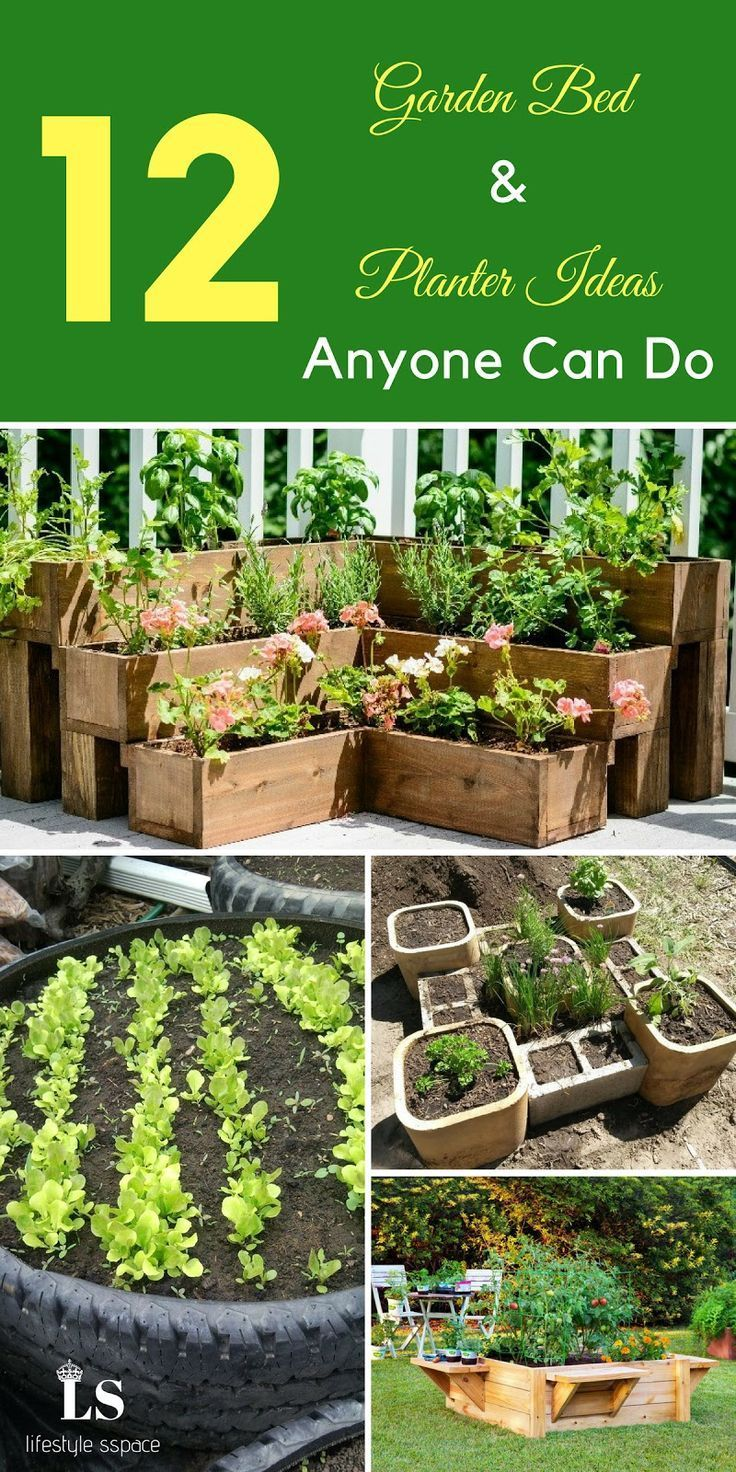 12 Garden Bed and Planter Ideas Anyone Can Do is part of garden Decking Cheap - Here we have collected 12 Garden Bed and Planter Ideas from the best writers  Why don't you try this Garden DIY in your garden  We are sure you …