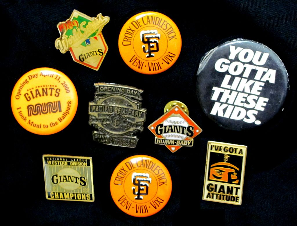 Croix De Candlestick Pin For Surviving Extra Innings At Candlestick Park Plus Many Other Old Favorites Sf Giants San Francisco Giants Baseball Giants