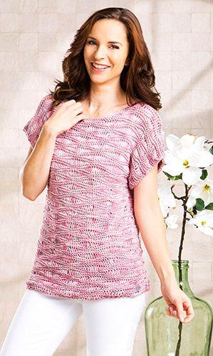 Kostenlose Strickanleitung: Shirt Tabea stricken | Stricken ...