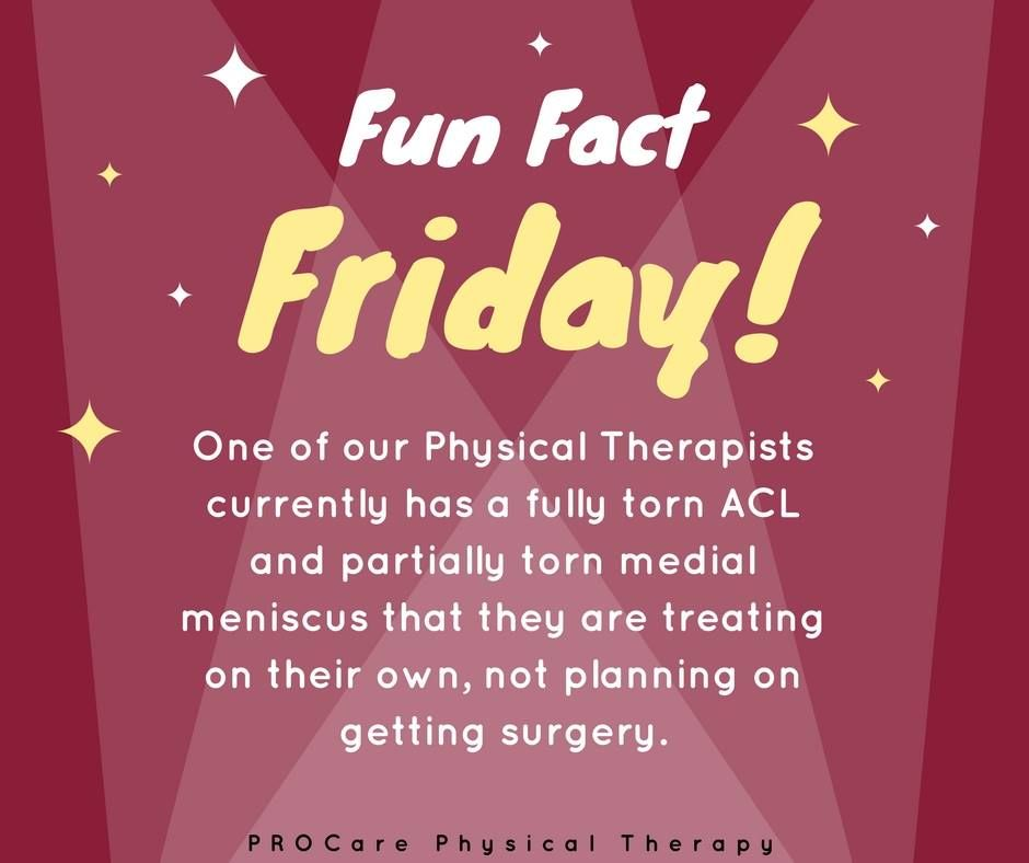 Hmmm Any Guesses On Which Physical Therapist We Are Talking About Fun Fact Friday Physics Physical Therapist