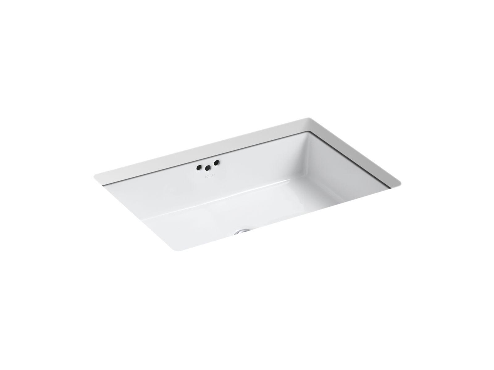 K 2297 G Kathryn Undermount 21 Inch Sink With Glazed Underside