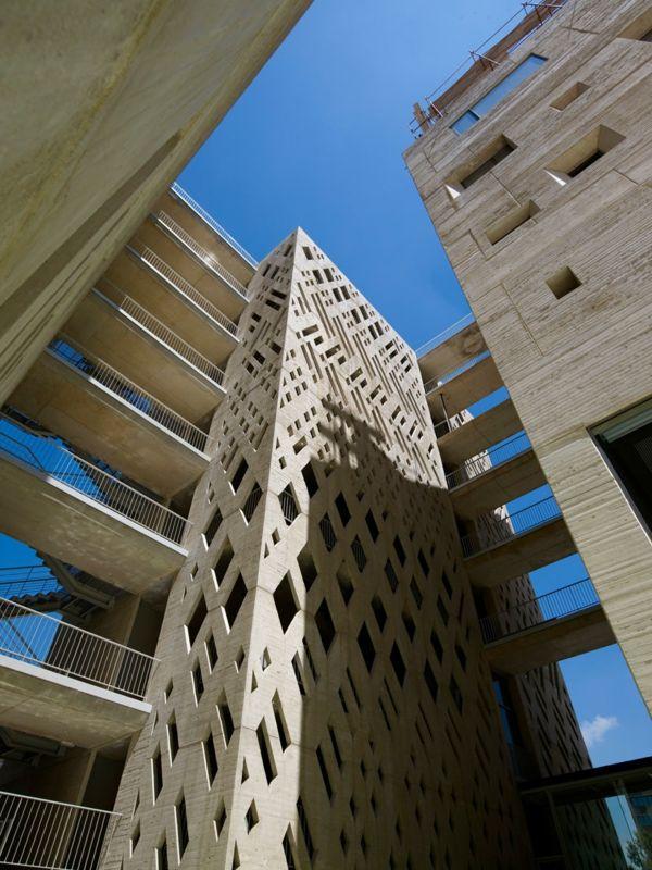 Aussenfassade Beton Architektur Fassade Fassadengestaltung