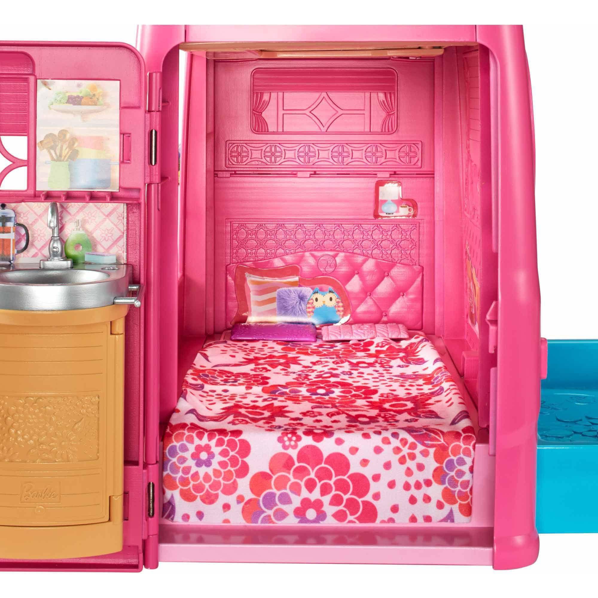 Barbie Pop-Up Camper - Walmart.com | Barbie stuff that I like ...