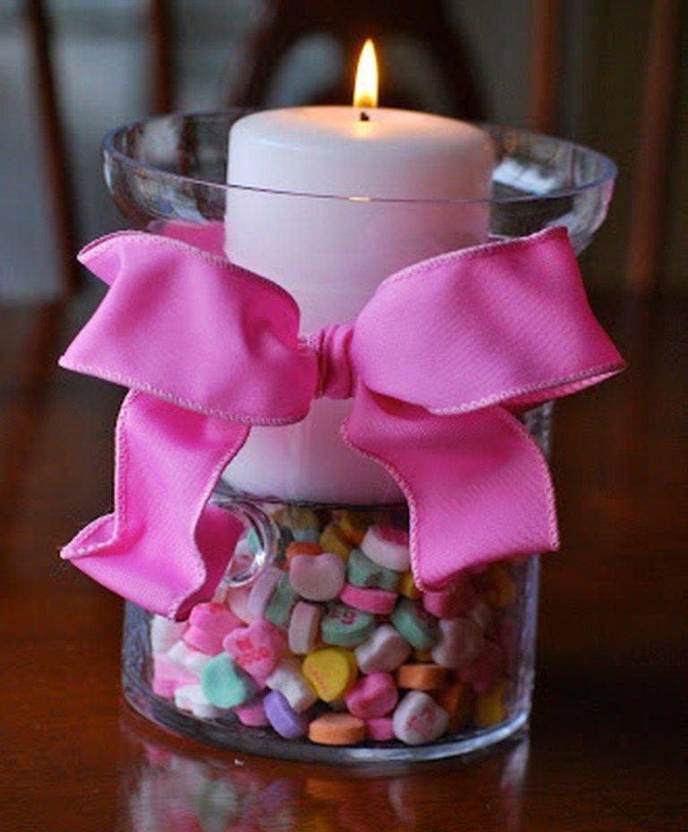 Candy Candles    Il giornata nato da San Valentino è cauto una delle mie occasioni preferite da parte di avere in comune a proposito di la mia stirpe e amici particolari, principalmente da condividere a proposito di i miei discendenti. Sta cuocendo quelle torte, dolci e biscotti e sta facendo anche se delle belle carte intorno a San Valentino. Ho molte idee da spartire per mezzo di te. San Valentino è solitamente... #Centerpieces #Coziem #Easy #Homemade #ideas #San Valentino rose #Valentine
