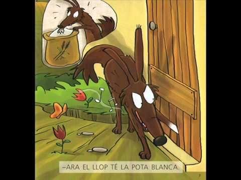 LES SET CABRETES I EL LLOP | Canciones infantiles, Cortometrajes ...