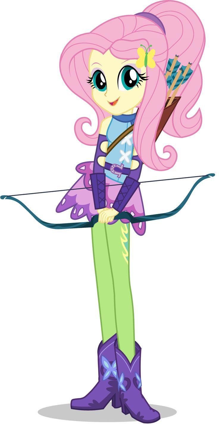 Fluttershy Archery Style Disegno Unicorno My Little Pony Immagini