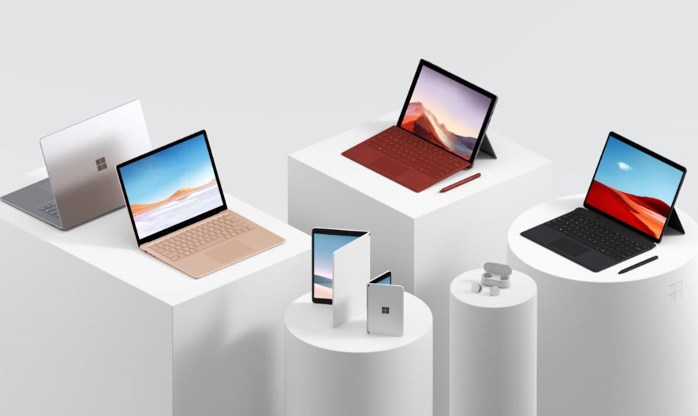 Surface reveals new holiday lineup and introduces a new category of  dual-screen devices built for… | Microsoft surface laptop, Surface laptop, Microsoft  surface pro
