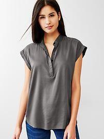 Women's tops: long-sleeved, short-sleeved, and more at gap.com. | Gap