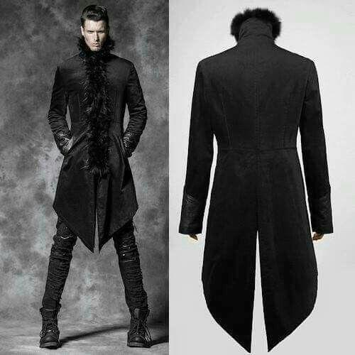 0e9adeefc004 Pin by Black Ribbon Society on Let s play dress-up!   Pinterest   Mens  fashion, Fashion and Gothic fashion