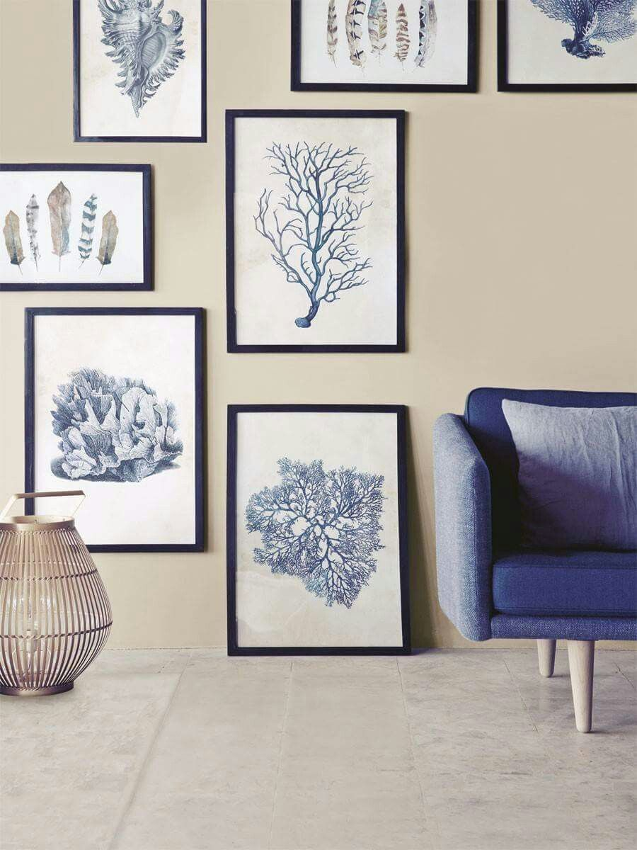 sch ne blaut ne f rs wohnzimmer wohnzimmer coastal. Black Bedroom Furniture Sets. Home Design Ideas
