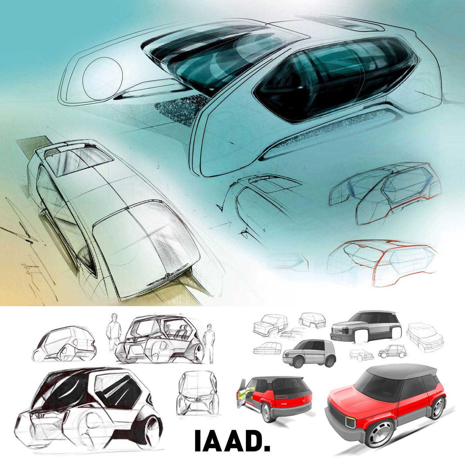 FIAT Panda Design Contest by IAAD: the winners  #iaad #design #designschool #cardesign  #automotivedesign #autodesign #cardesignworld #cardesignercommunity #cardesignpro #carbodydesign #cardesigner #vehicledesign #conceptcar #fiatpanda #giugiaro #transportationdesign