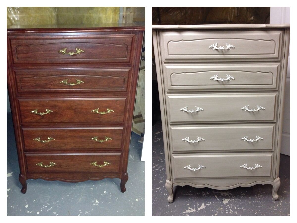 Best Cheap Dresser Painted With Home Made Chalk Paint Waxed 400 x 300
