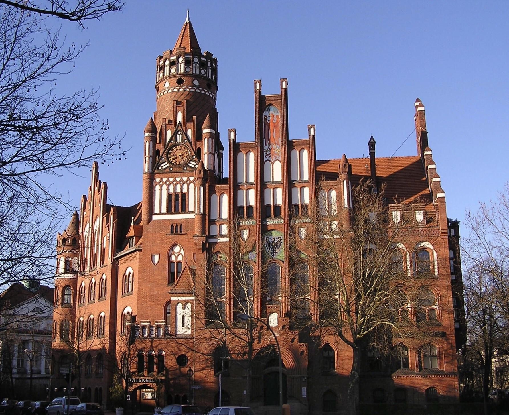 Berlin Gothic The Brick Gothic Revival Town Hall Of Schmargendorf In Berlin