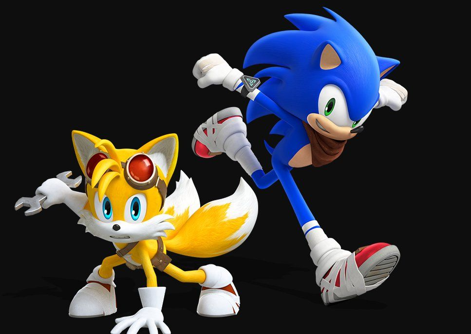 Sonic The Hedgehog And Tails The Fox New Render By Sonicboomfan101 Sonic Sonic Fan Characters Sonic Art