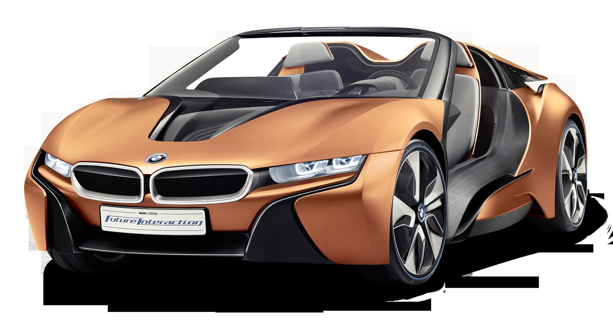 Orange Bmw I8 Spyder Car Png Image Pngpix Bmw Concept Bmw I8 Nova Bmw