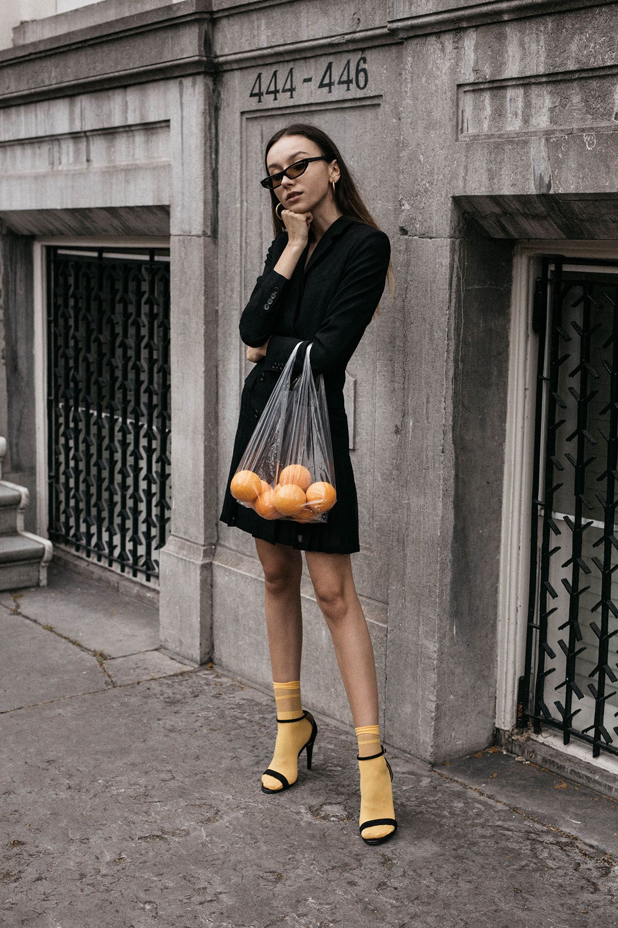 2019 year looks- How to bright wear yellow bag