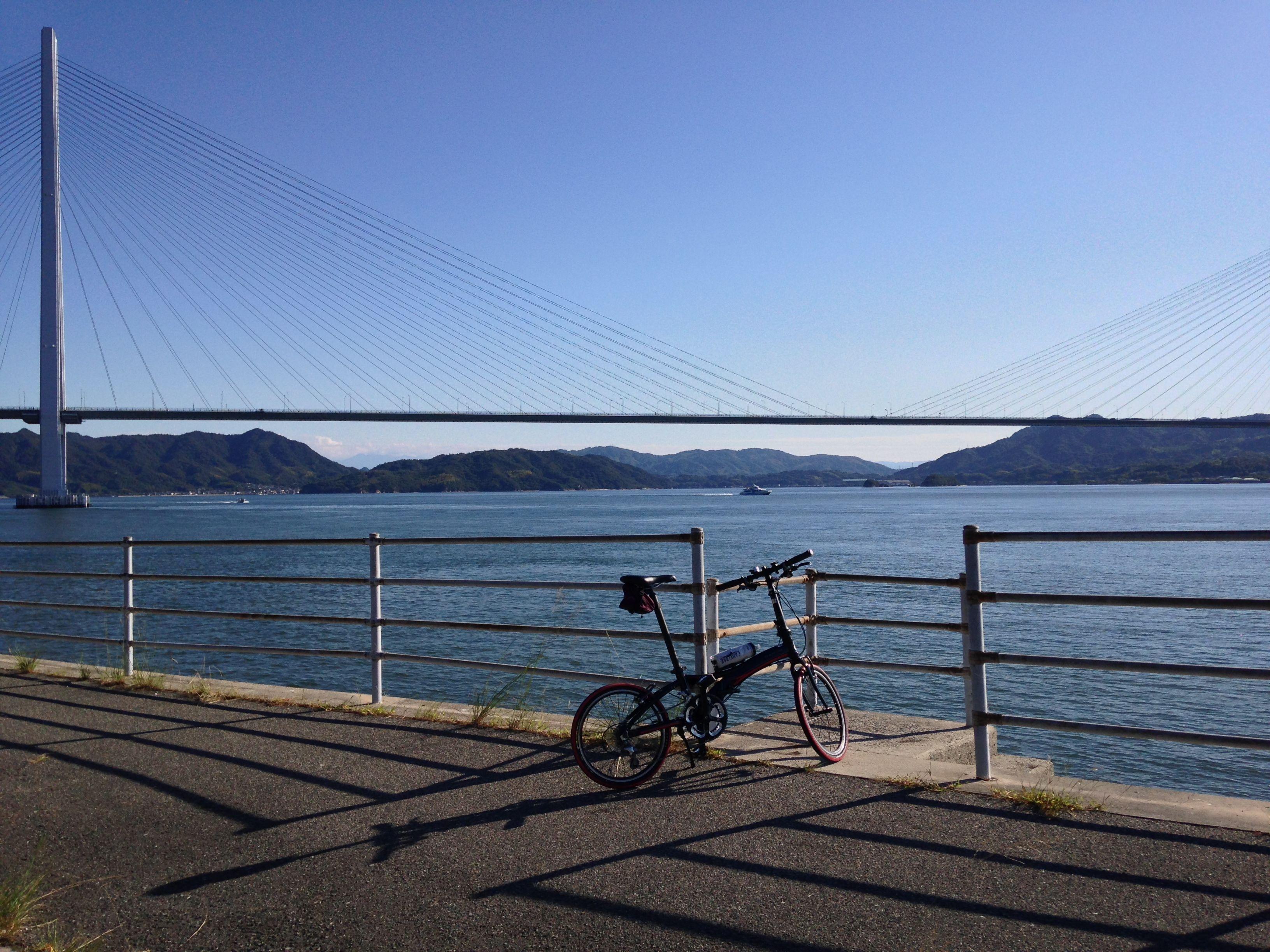 Copyright © マギー 様 / Visc.P20 2013 30h / 新幹線で初めて遠出の輪行。しまなみ・とびしま街道、尾道〜広島160km走破。気持ち良かった‼︎