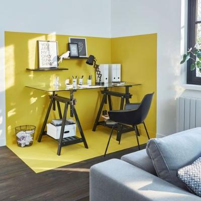 Hardal Rengi Duvar Boyası ve Uyumlu Olduğu Renkler #designfürzuhause