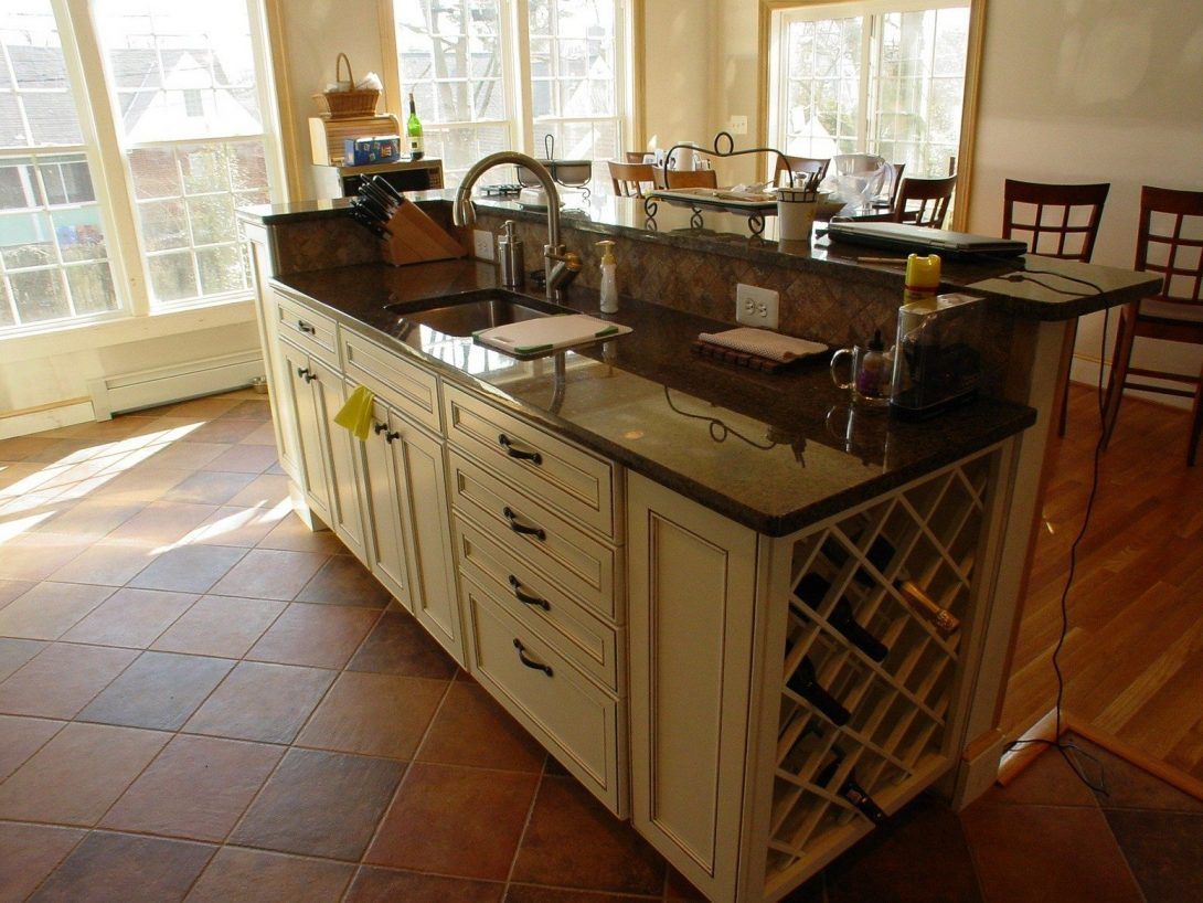 kitchen island with sink and dishwasher stainless steel oversized fauc kitchen island with on kitchen island ideas with sink id=18150