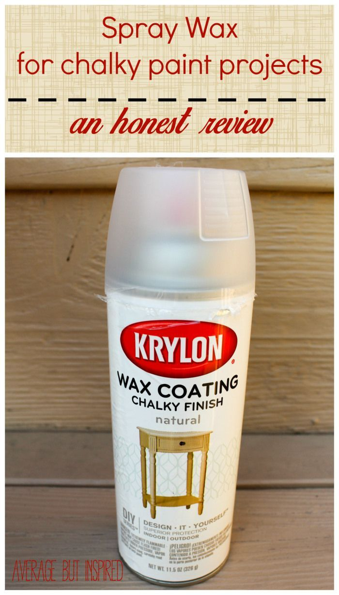 An Unbiased Review Of Spray Wax For Chalky Finish Paint