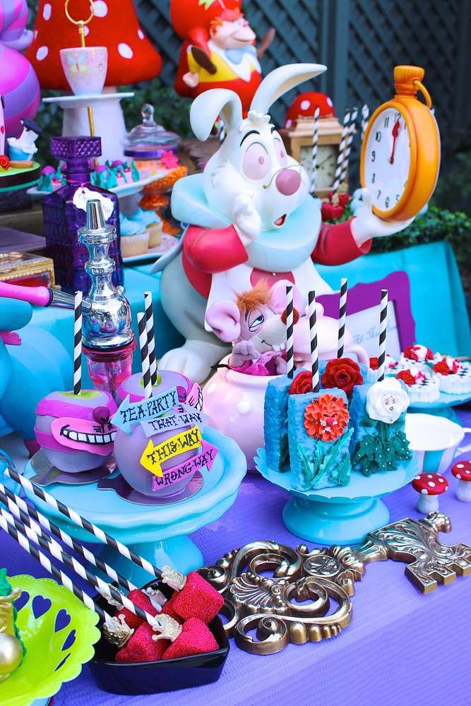 Amazing Alice In Wonderland Birthday Party See More Planning Ideas At CatchMyParty