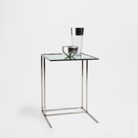 Mirrored SMALL CRYSTAL SERVICE TABLE - Occasional Furniture ...