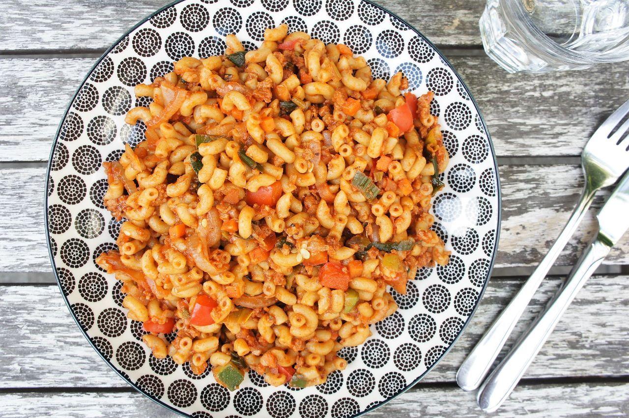 Beste Simpel en snel: vegan macaroni (met afbeeldingen)   Macaroni RB-99