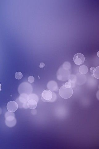Ios 7 Bokeh Bubbles Purple Iphone 5 Wallpaper Iphone Dynamic