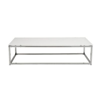 Bellewood Frame Coffee Table White Glass Coffee Table Coffee Table Glass Top Coffee Table