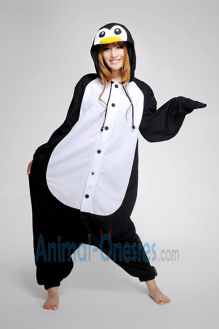 Animal Onesie For Women Google Search Penguin Onesie Adult