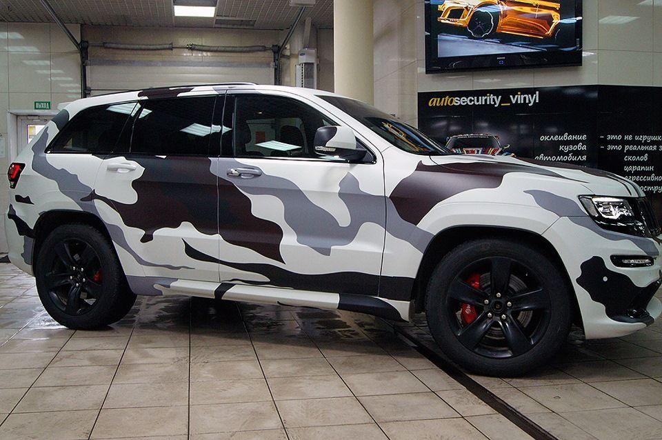 Jeep Grand Cherokee Srt White Camo Autos