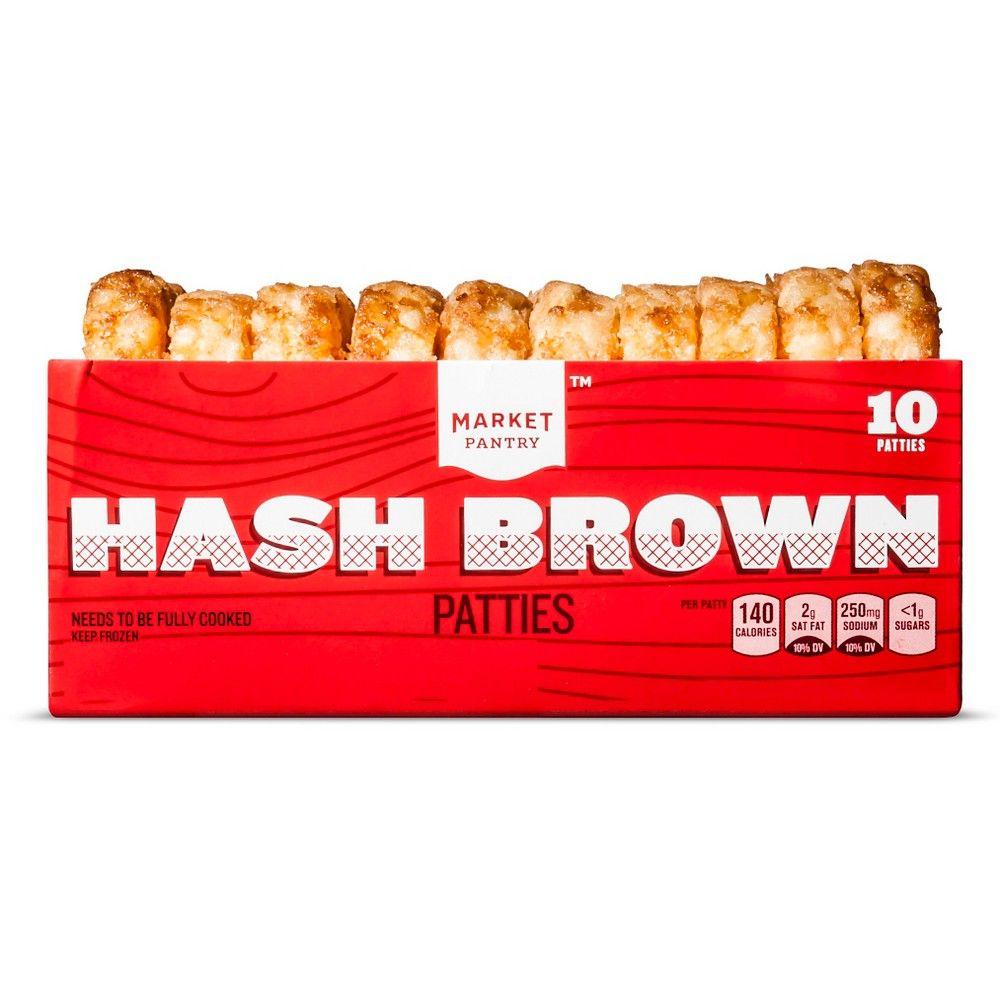 Best Hash Brown Frozen Patties 10Ct Market Pantry Frozen 400 x 300