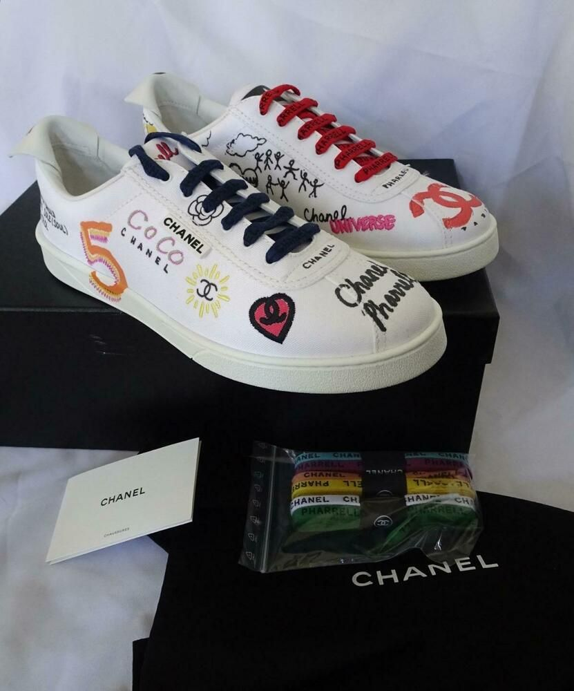 eBay Sponsored) CHANEL x PHARRELL MEN's Canvas Graffiti